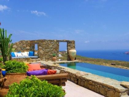Villa drakothea a unique villa for rent in mykonos - Piscine rocciose ...